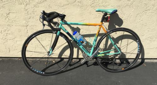 Dirty Bianchi Bike