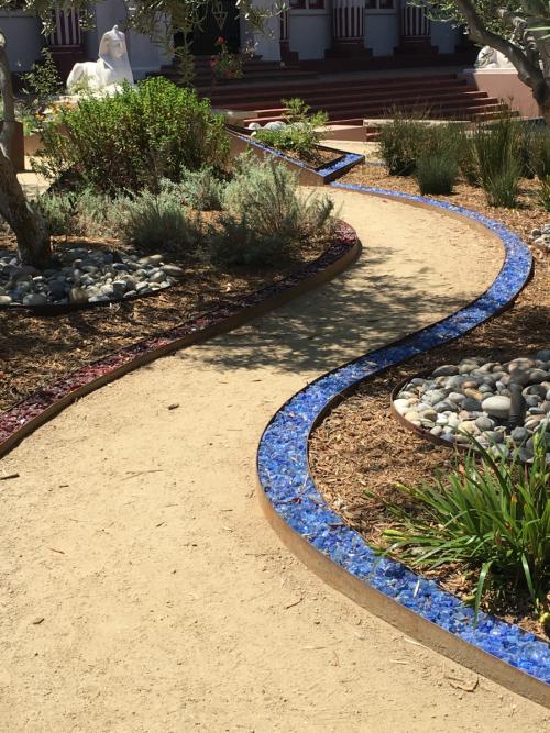 Photo 0971 Winding paths through the Peace Garden