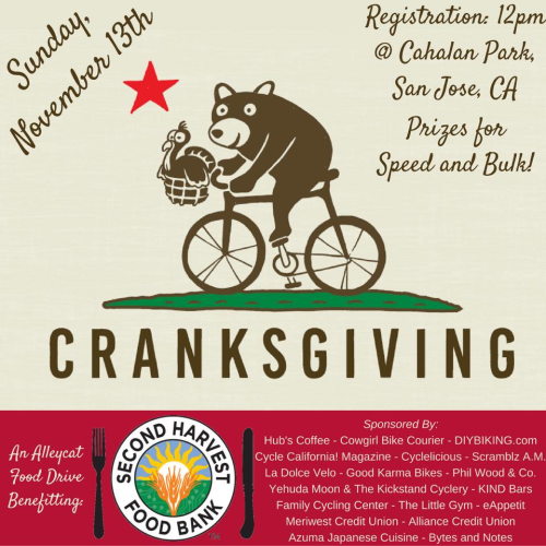 Cranksgiving San Jose