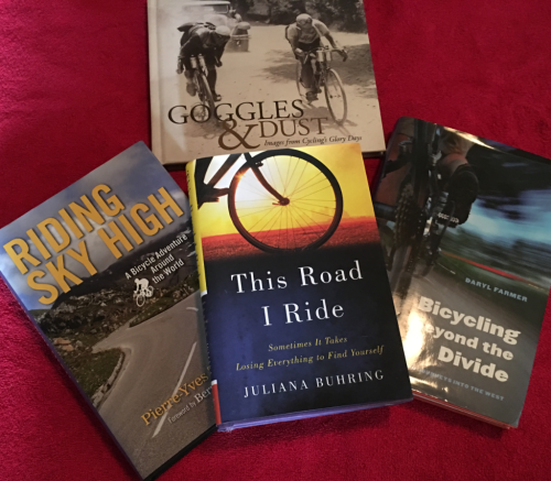 Photo IMG-2985: Bike Books for Valentine's Day!