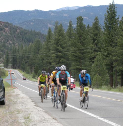 Photo DSCN0598 Having fun on Alpine County's Death Ride