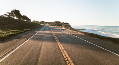 Photo O4A0009: Highway 1 outside of Cambria, California