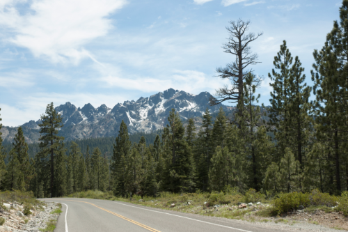 Sierra Buttes from Gold Lakes Highway