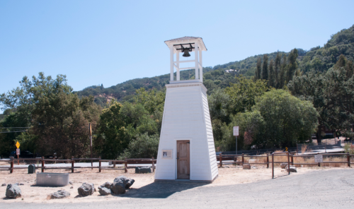 Almaden Quicksilver bell tower