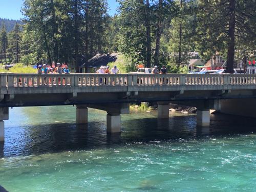 Tahoe's Fanny Bridge