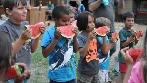 Photo 1019 Watermelon eating contest courtesy of Camps in Common