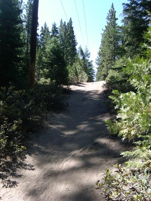 Powerline Trail in Tahoe South