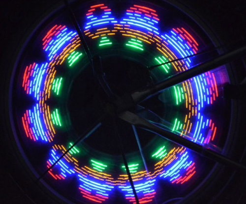 Programmable-wheel-spoke-lights courtesy of Monkeylectric.com