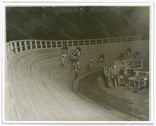 Track racing photo courtesy of Nypl.digitalcollections