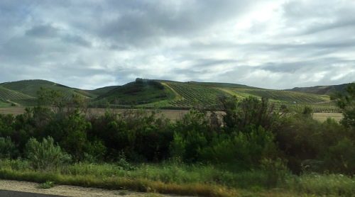 Photo 0349 rolling hills around Santa Ynez Valley